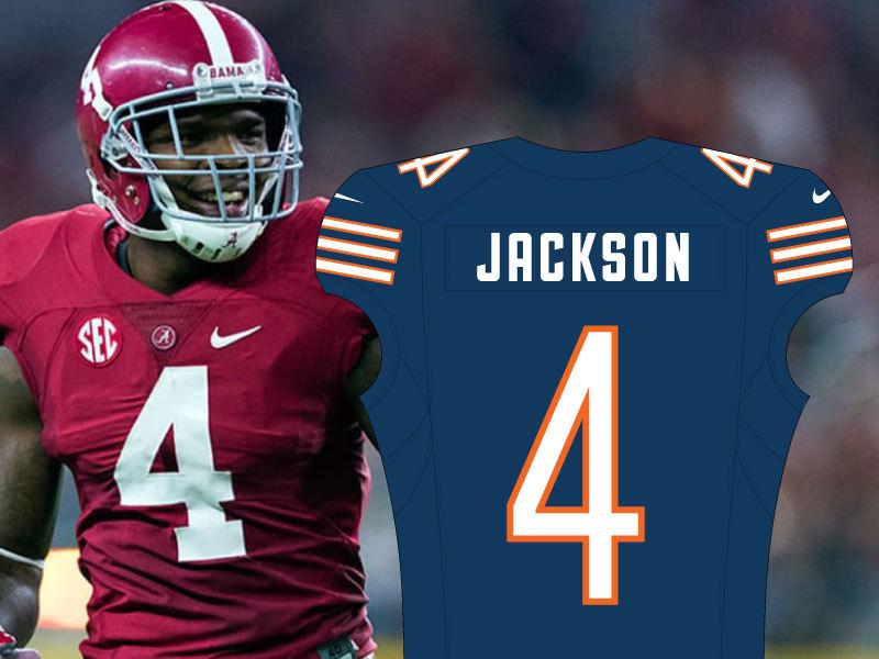 Eddie Jackson No. 4 Bears Jersey
