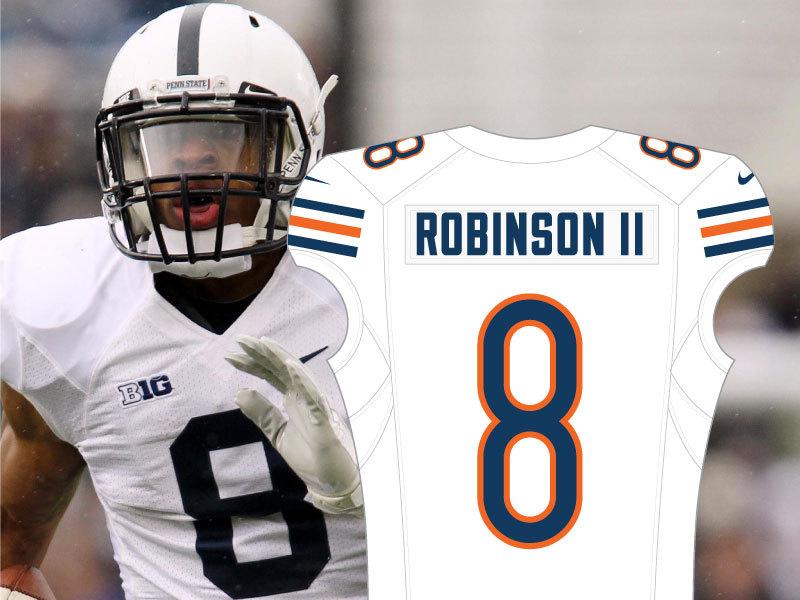Allen Robinson No. 8 Bears Jersey