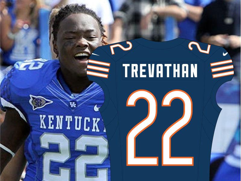 Danny Trevathan No. 22 Bears Jersey
