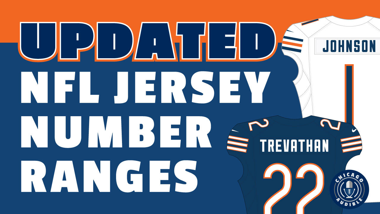Updated NFL Jersey Number Ranges