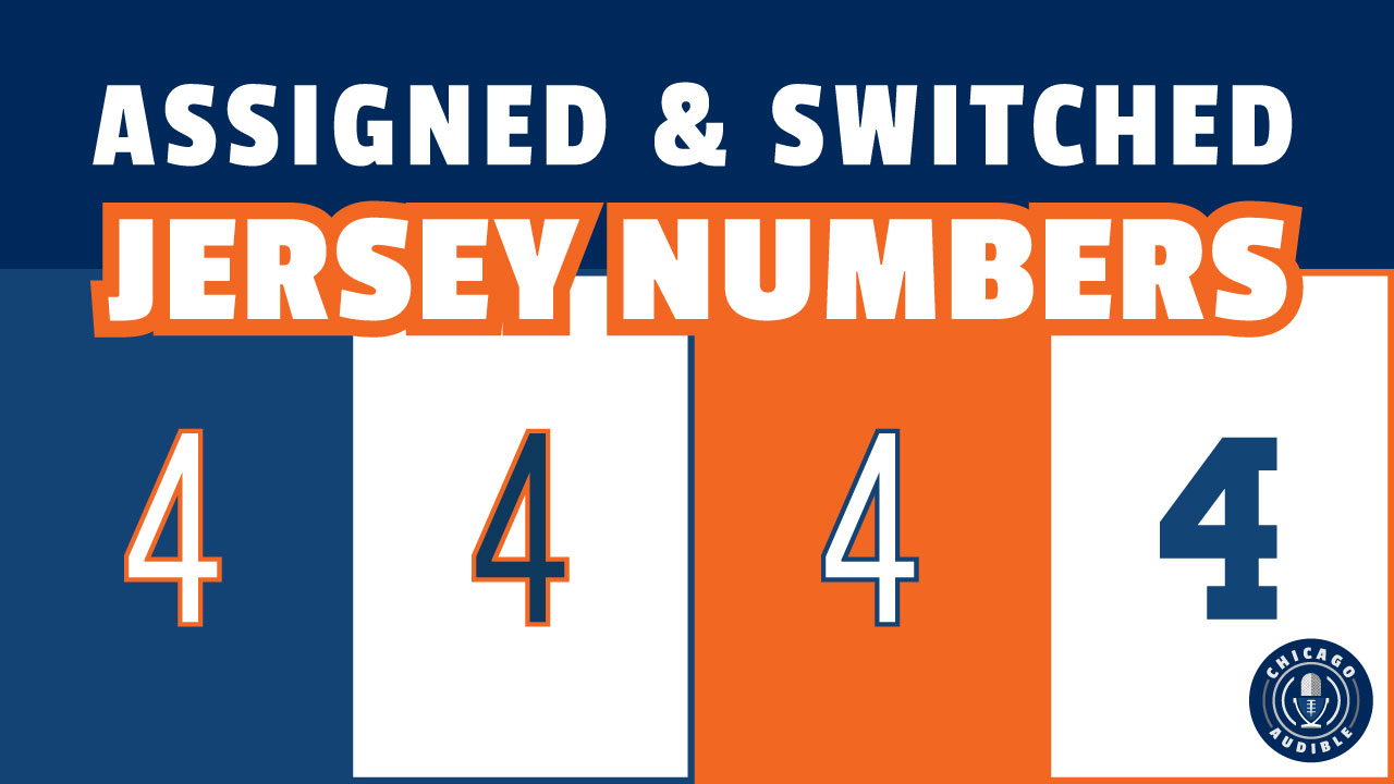 Chicago Bears Assigned and Changed Jersey Numbers