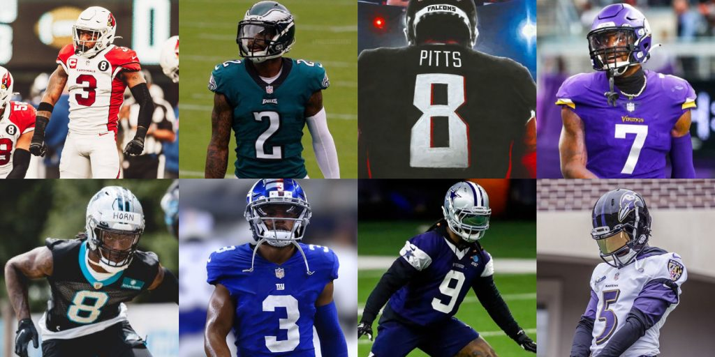 NFL new player numbers 2021