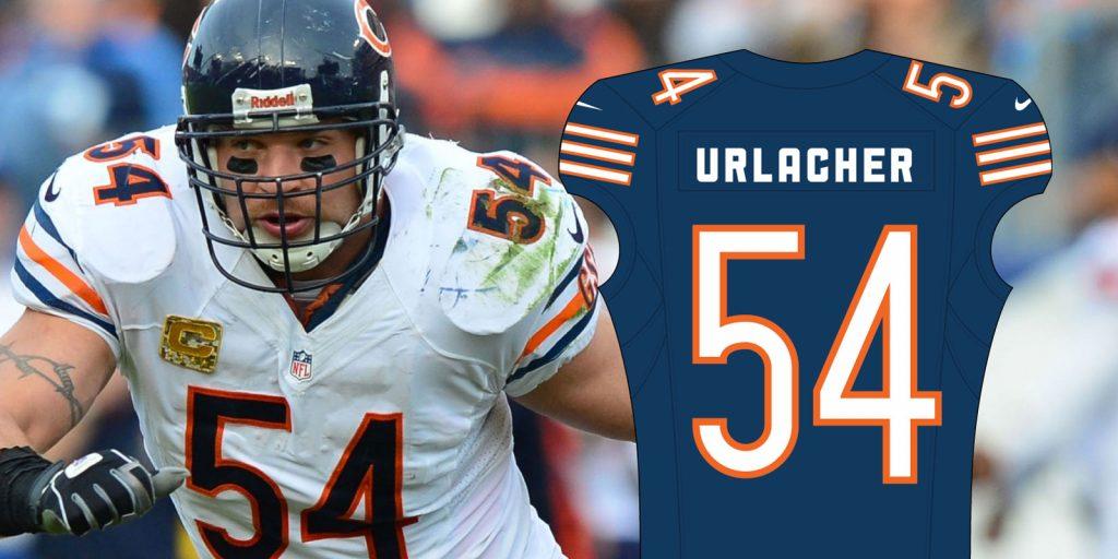 Chicago Bears 54 Jersey, Urlacher