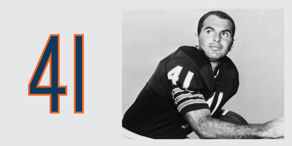 Chicago Bears Retired Jersey 41 Brian Piccolo