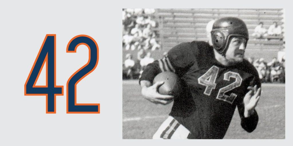 Chicago Bears Retired Jersey 41 Sid Luckman