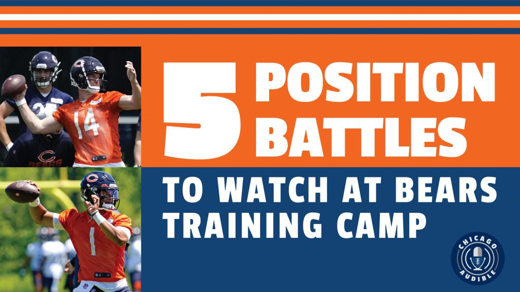 Chicago Bears 5 Position Battles To Watch at Training Camp