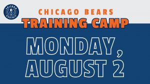 Chicago Bears Training Camp August 2
