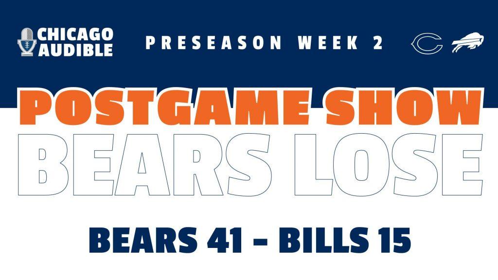 Bears-Bills Postgame Show