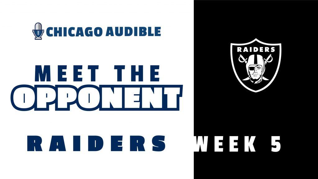 Chicago Audible Meet The Opponent - Las Vegas Raiders