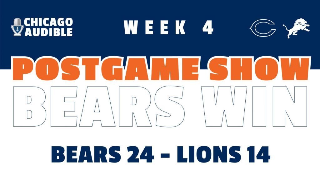 Chicago Bears - Detroit Lions Postgame Show - Week 4