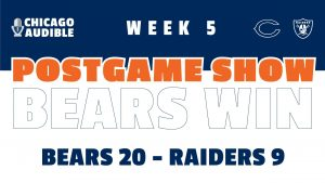 Chicago Bears - Las Vegas Raiders Postgame Show