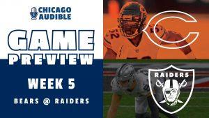 Chicago Bears Game Preview Week 5 vs Las Vegas Raiders